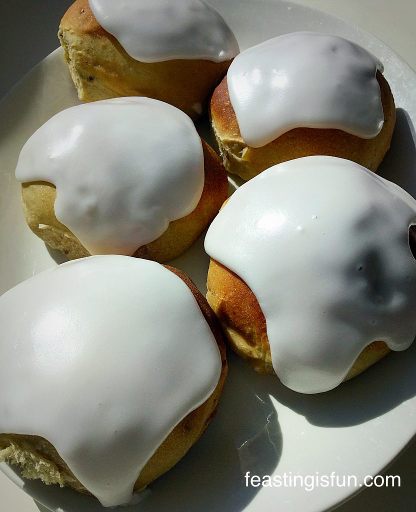 FF Date Ginger Iced Buns