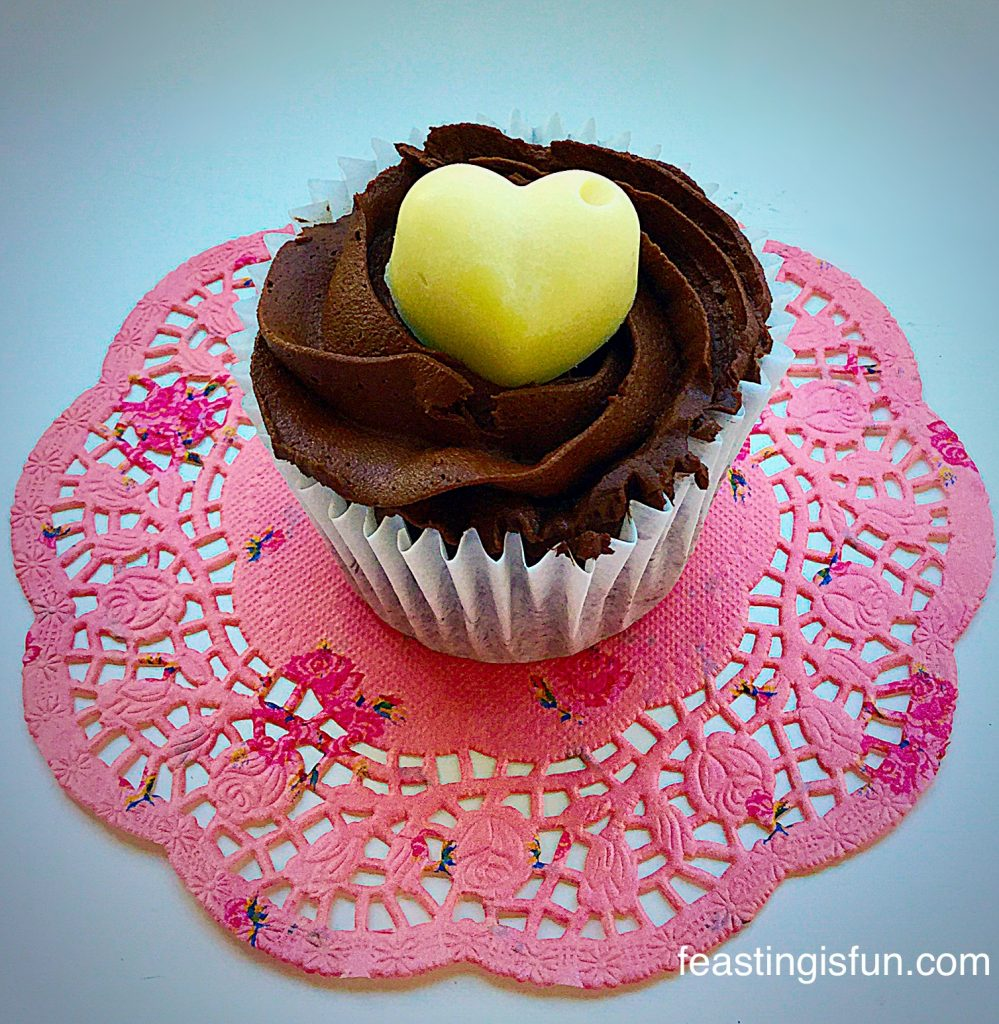 FF Chocolate Cherry Cupcakes