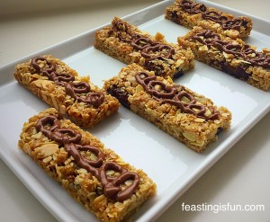 VC Coconut Almond Date Flapjacks