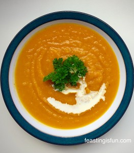 FF Roasted Garlic Butternut Squash Soup
