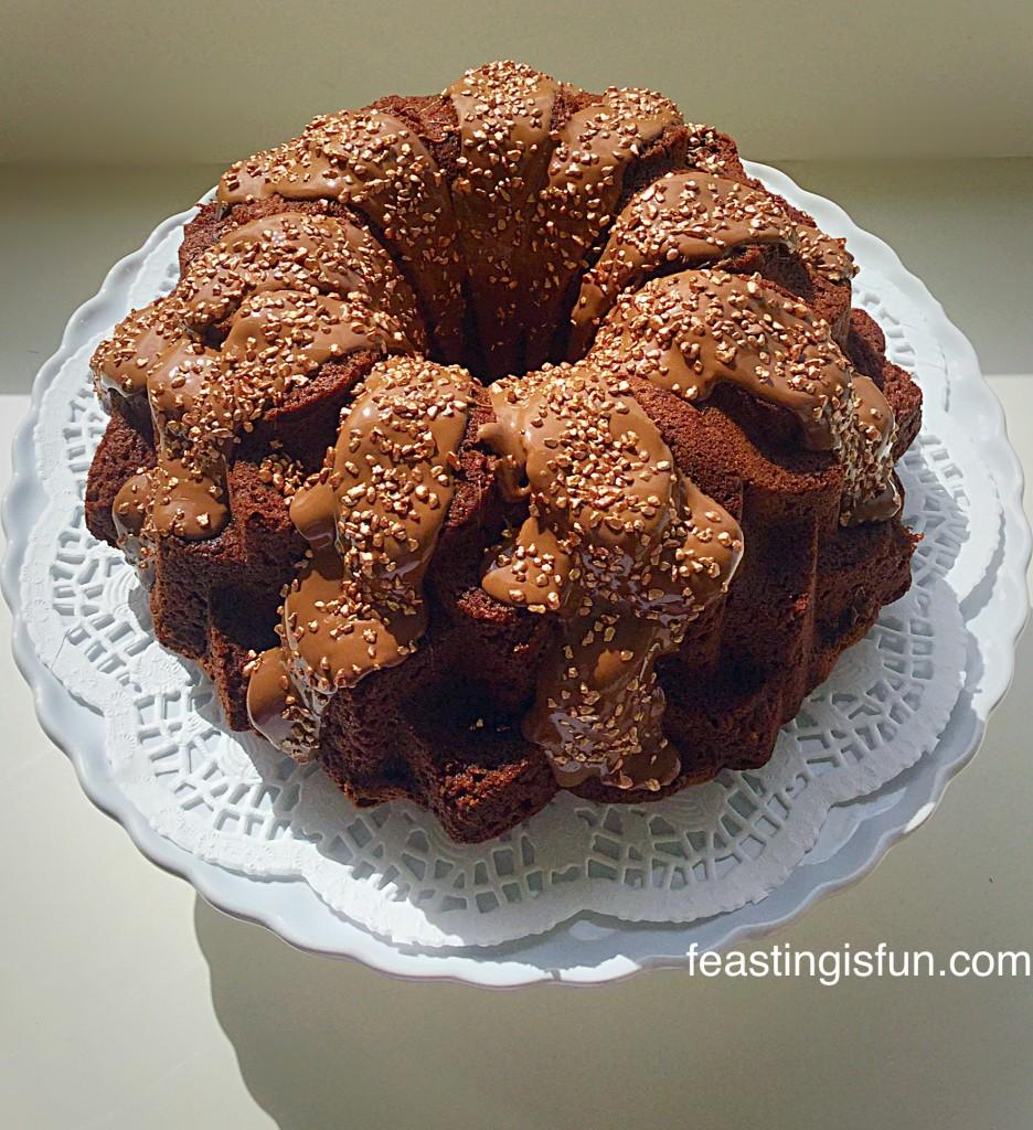 WB Chocolate Toffee Crunch Bundt Cake