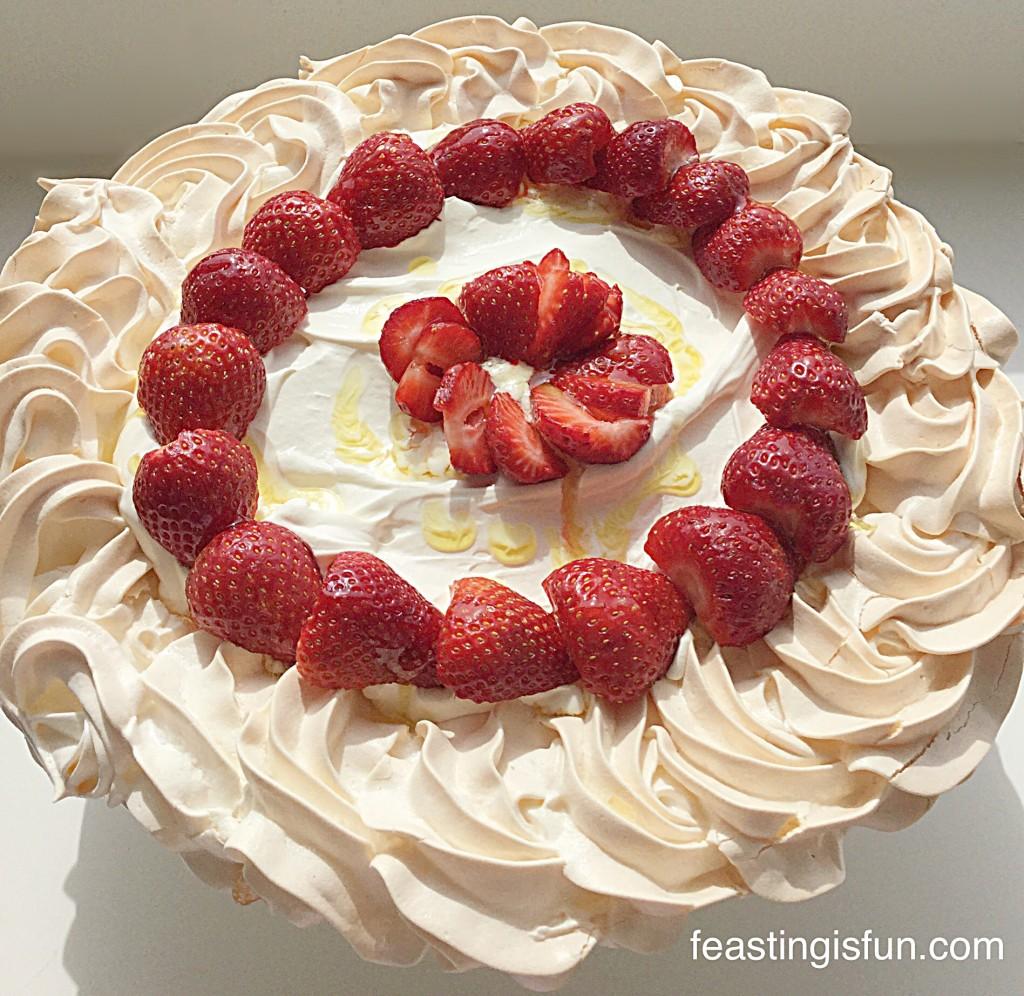 FF Lemony Strawberry Pavlova