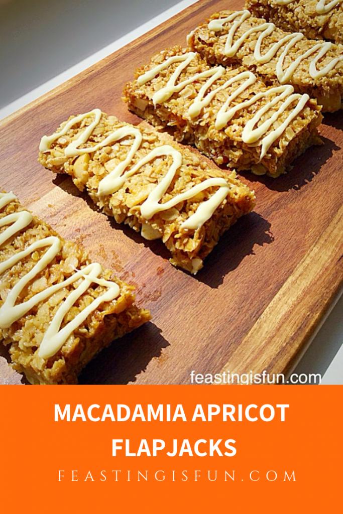 FF Macadamia Apricot Flapjacks