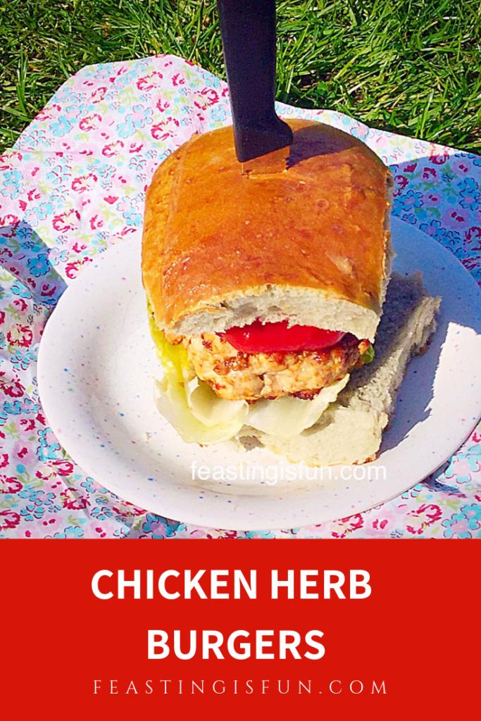 FF Chicken Herb Burgers