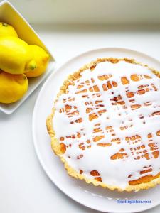 FF Lemon Curd Sponge Tart