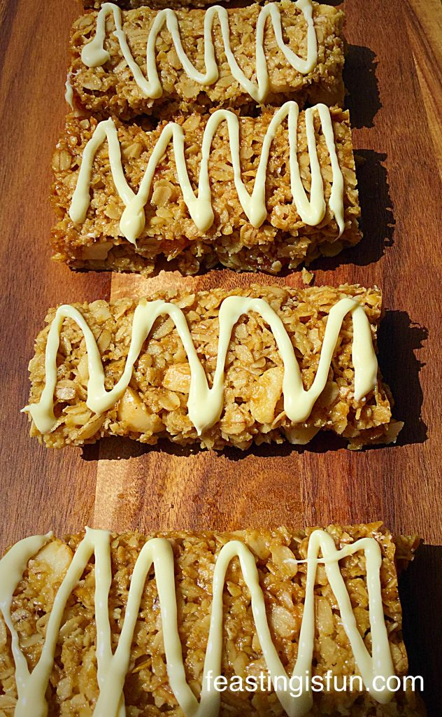 Macadamia Nut Dried Apricot Flapjacks