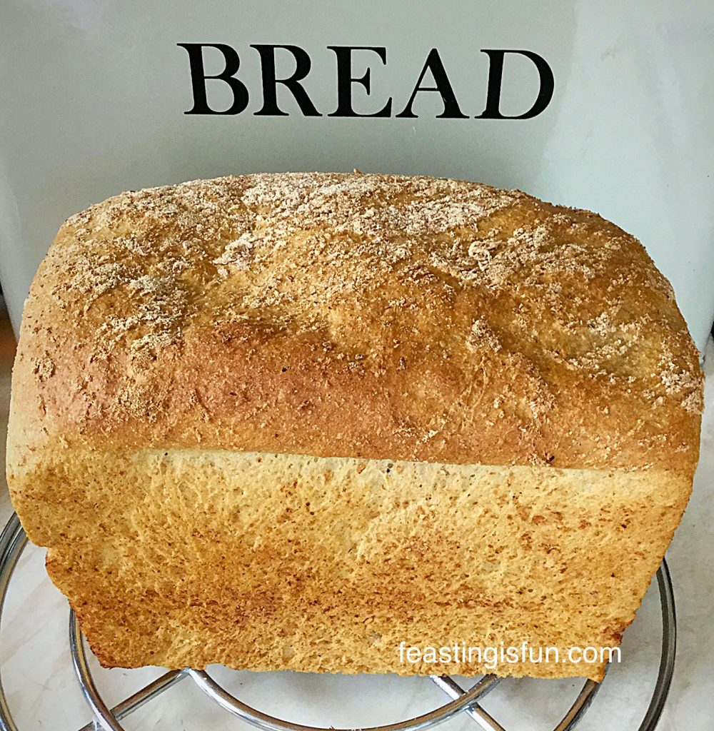 Lighter Wholemeal Loaf such a delicious and versatile bread.