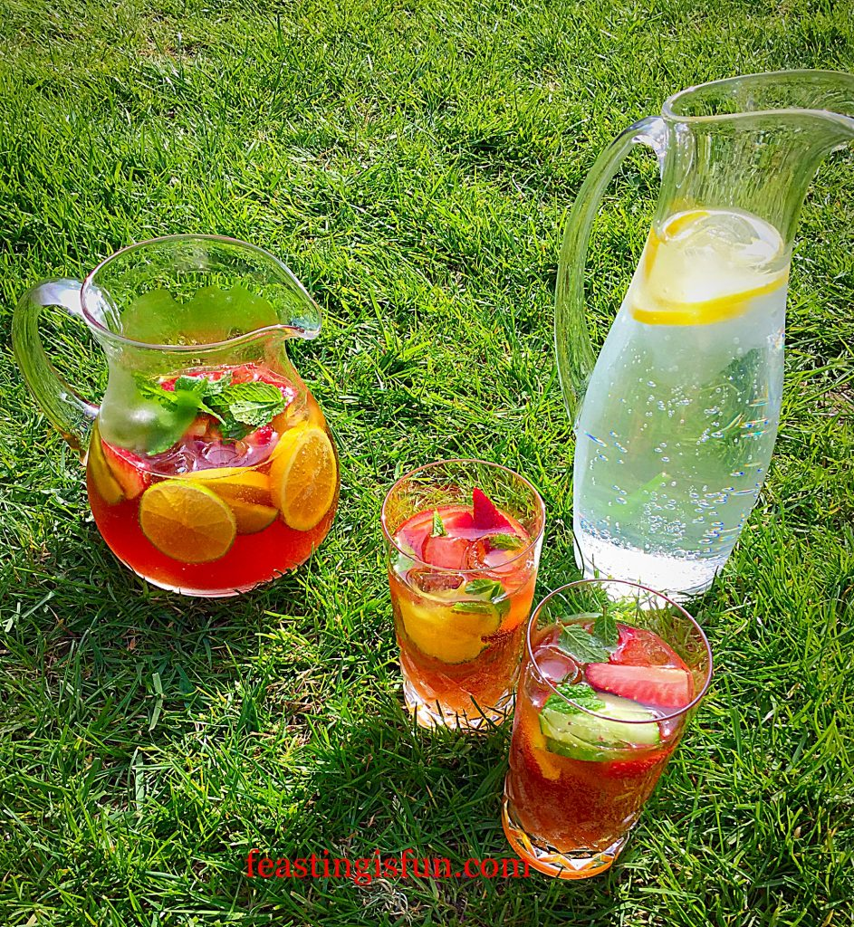 Franklins Fruity Summer Drink the perfect tipple for enjoying outdoors.