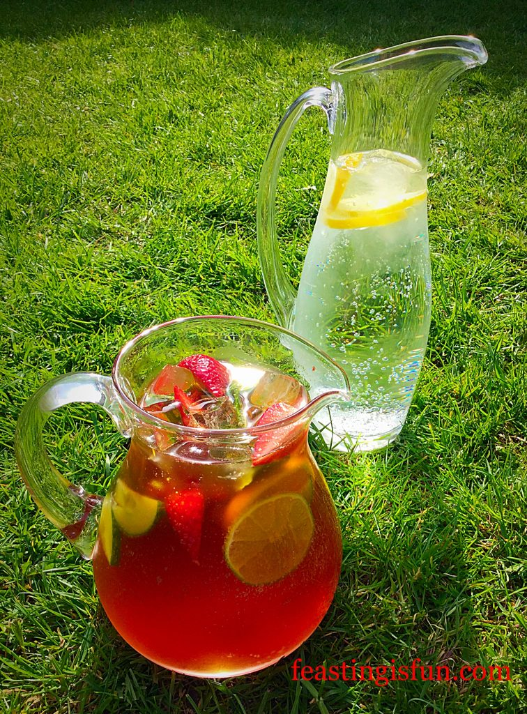 Franklins Fruity Summer Drink refreshing and alcohol free, this drink can be enjoyed any time of the day or night!!