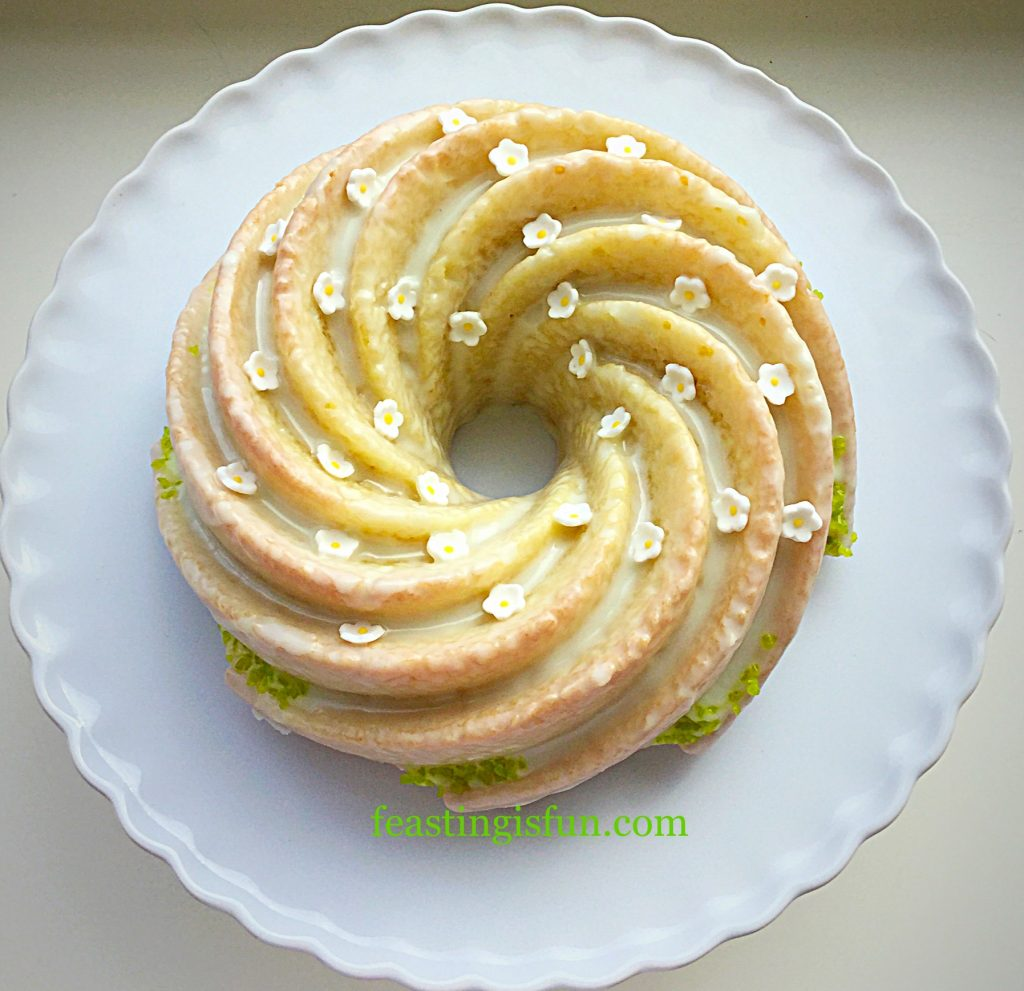 FF Swirl Lime Drizzle Cake