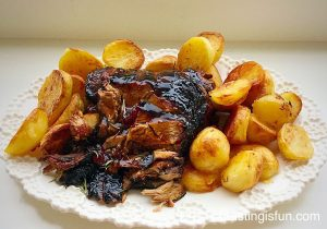 FF Redburrant Jelly Glazed Roast Lamb