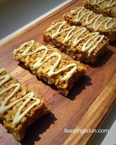 FF Double Cherry Drizzle Oat Bars
