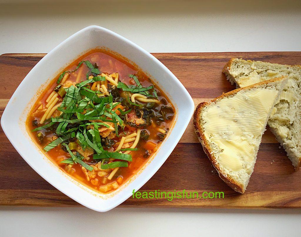 Hearty Minestrone Soup an easy, yet tasty recipe