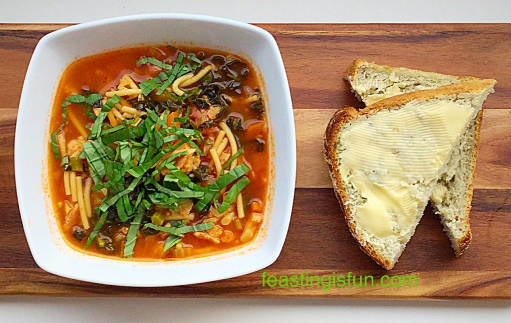 FF Hearty Minestrone Soup