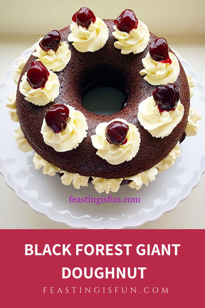 FF Black Forest Giant Donut