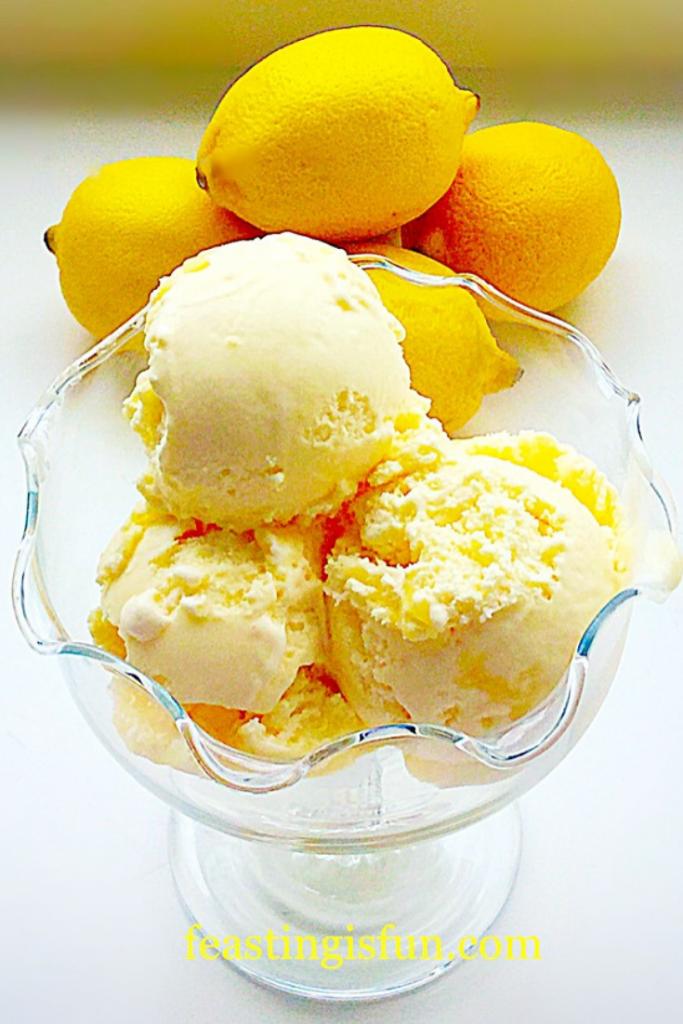 FF Lemon Ripple Ice Cream