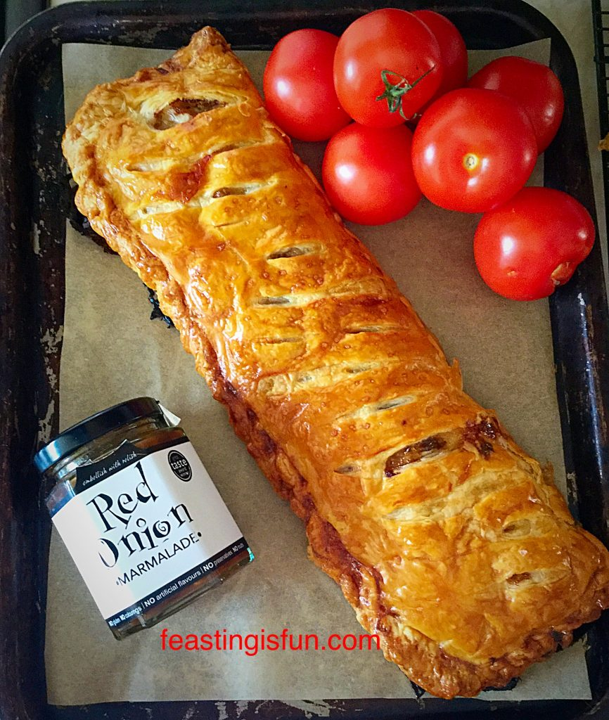 FF Red Onion Sausage Plait