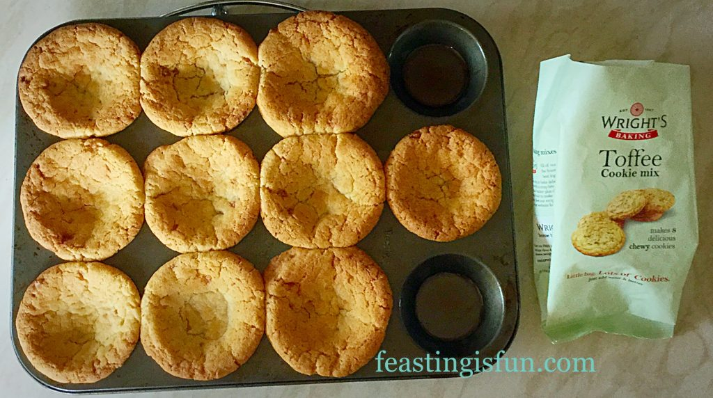 FF Toffee Cookie Cups