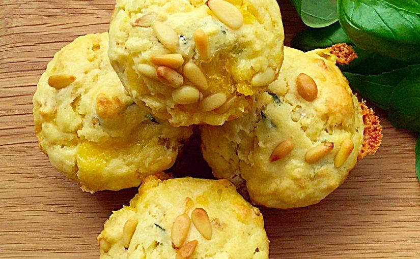 FF Goddess Cheese Pine Nut Muffins