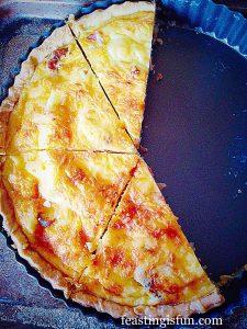 FF Feta Red Onion Marmalade Quiche