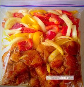 FF Chilli Lime Chicken Kebabs