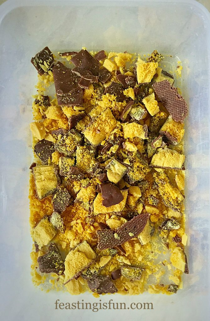 FF Chocolate Honeycomb Ice Cream