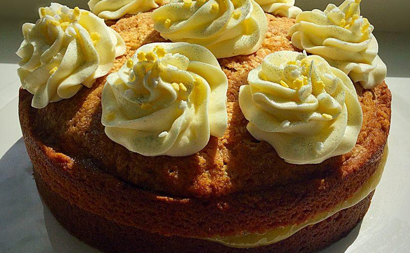 Loveliest Lemon Curd Cake