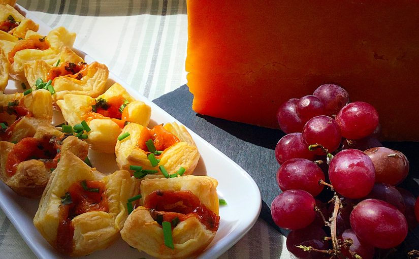Mini Red Leicester Tarts