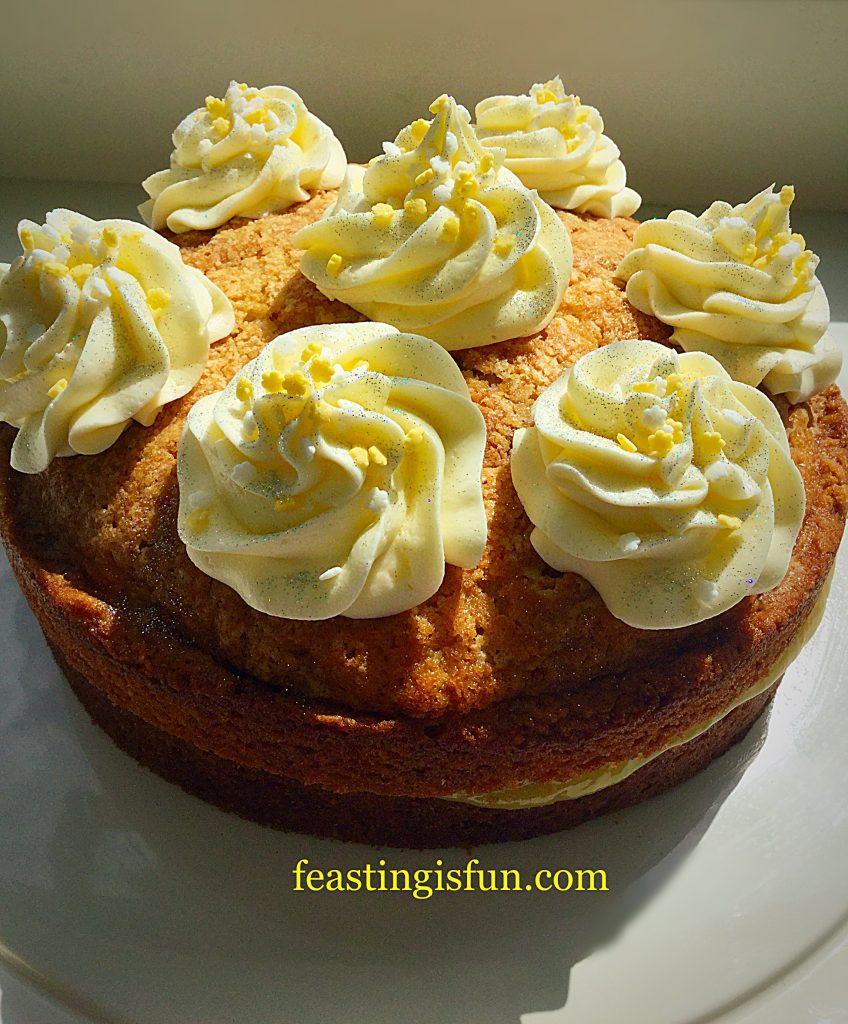 FF Lemon Curd Cake