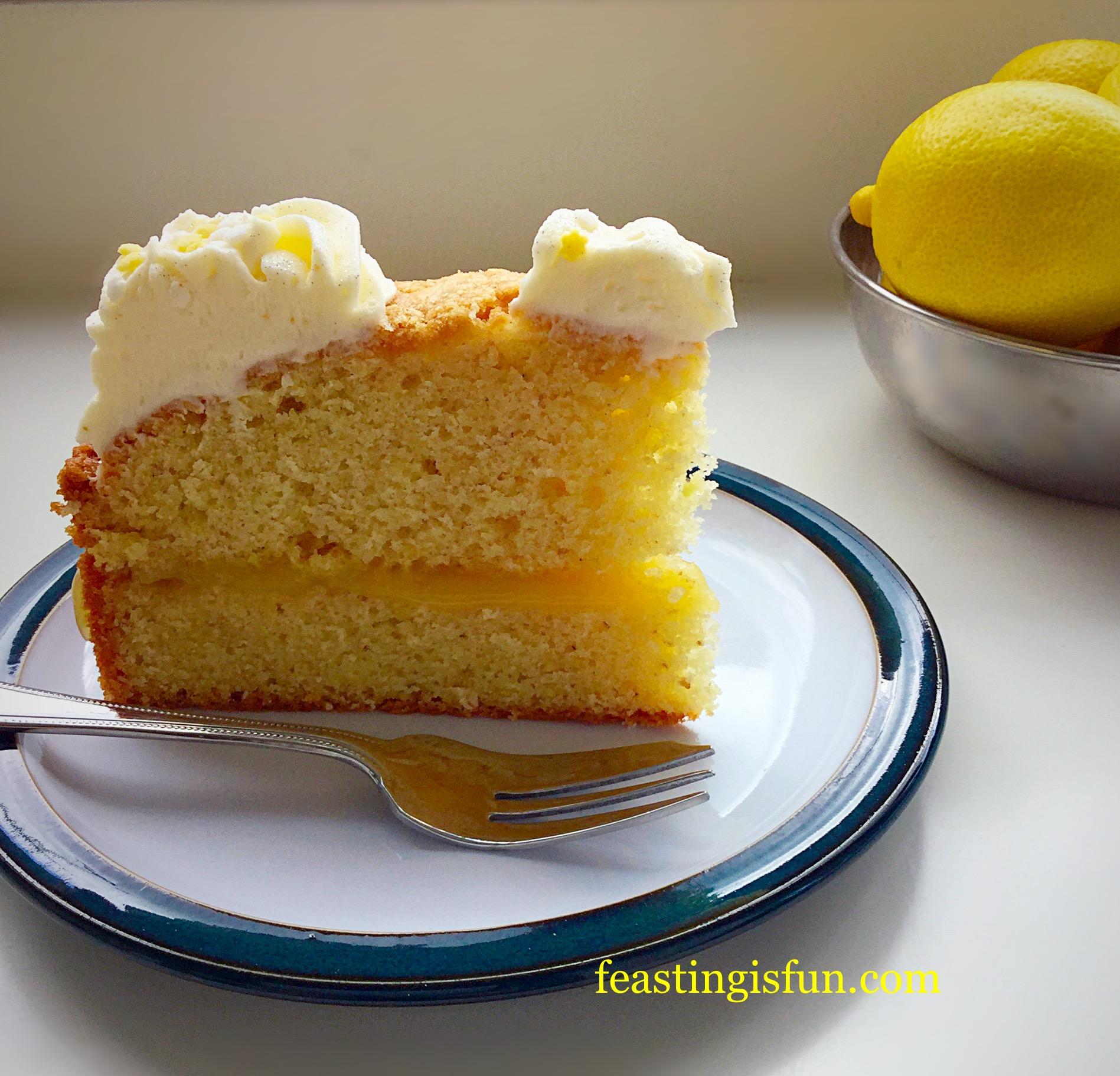 Lemon Curd In Cake Batter