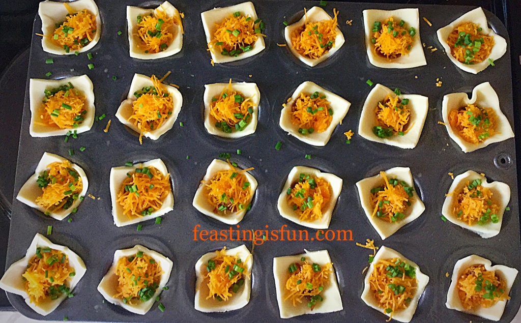 FF Mini Red Leicester Tarts