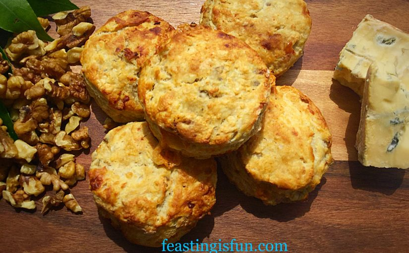 Beauvale Cheese Walnut Scones
