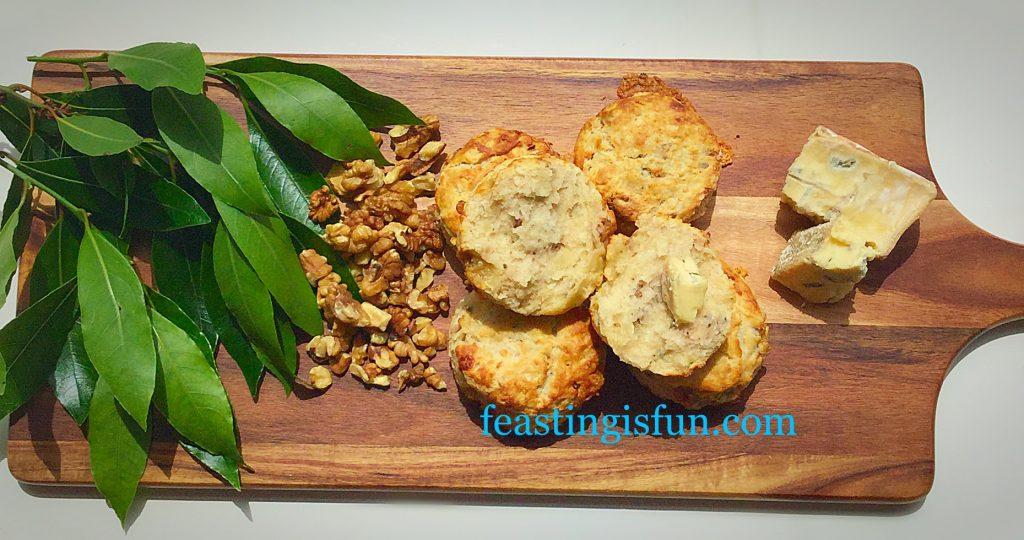 FF Beauvale Cheese Walnut Scones
