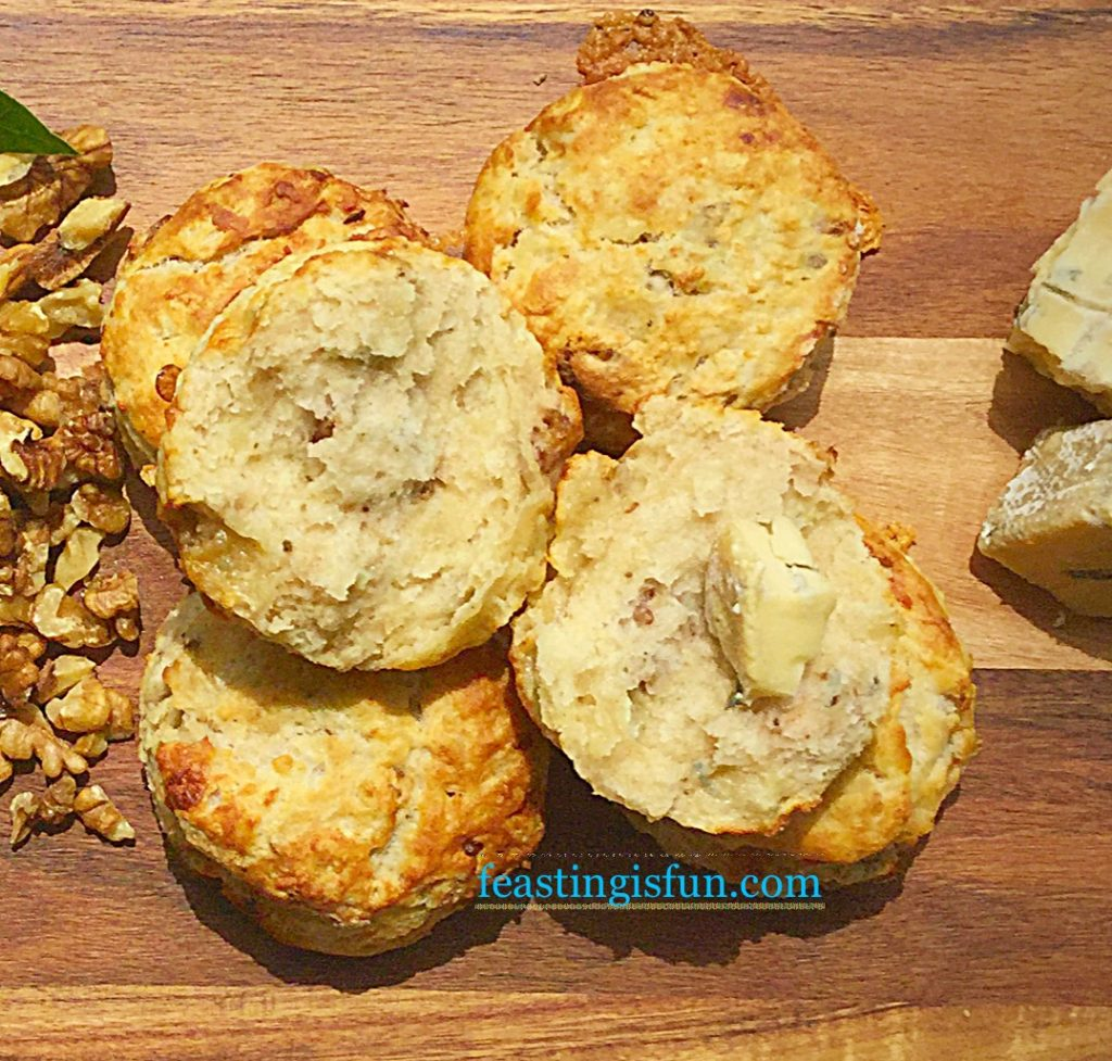 FF Beauvale Cheese Walnut Scones