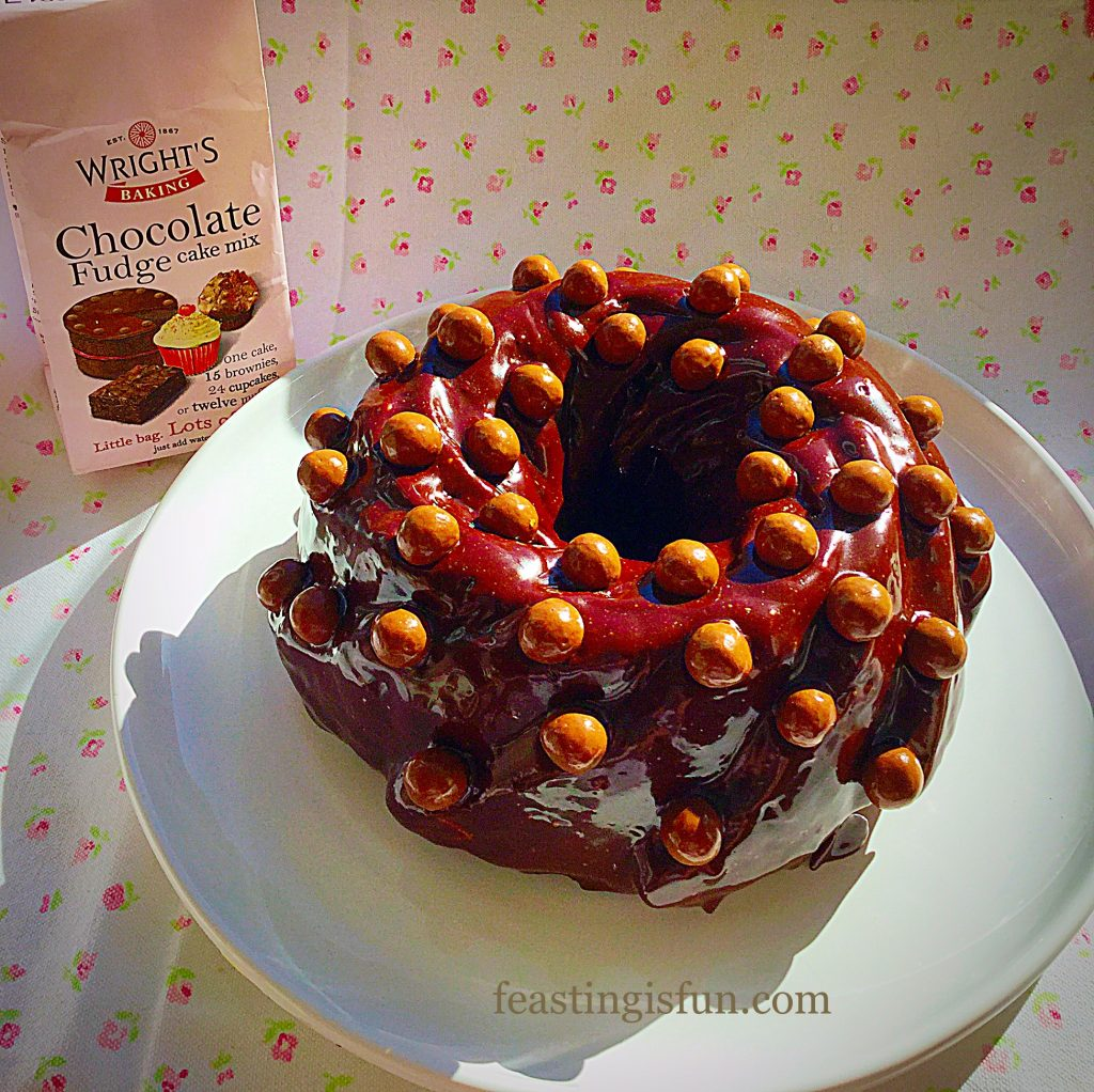 FF Dreamy Chocolate Fudge Cake