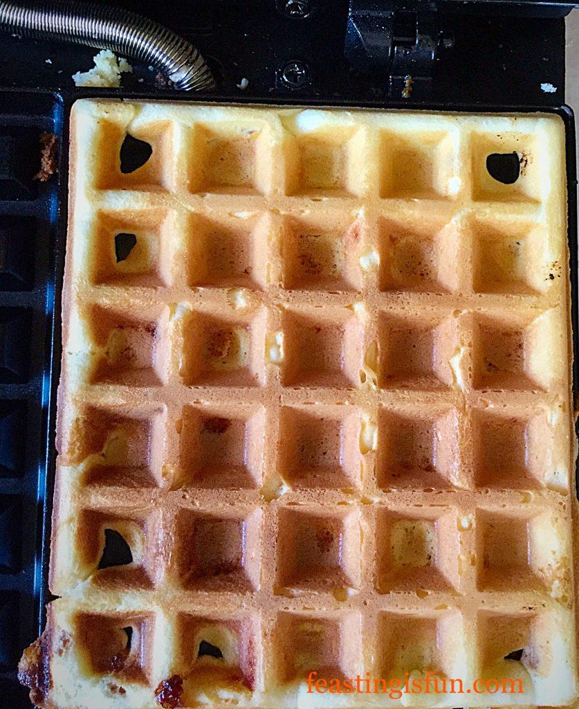FF Fruity Orange Waffles