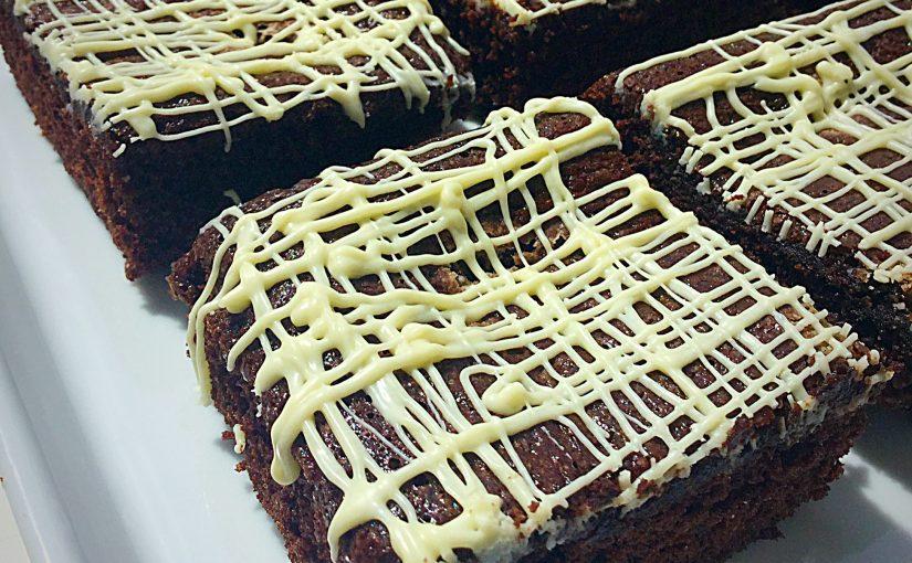 Vanilla Fudge Chocolate Brownies