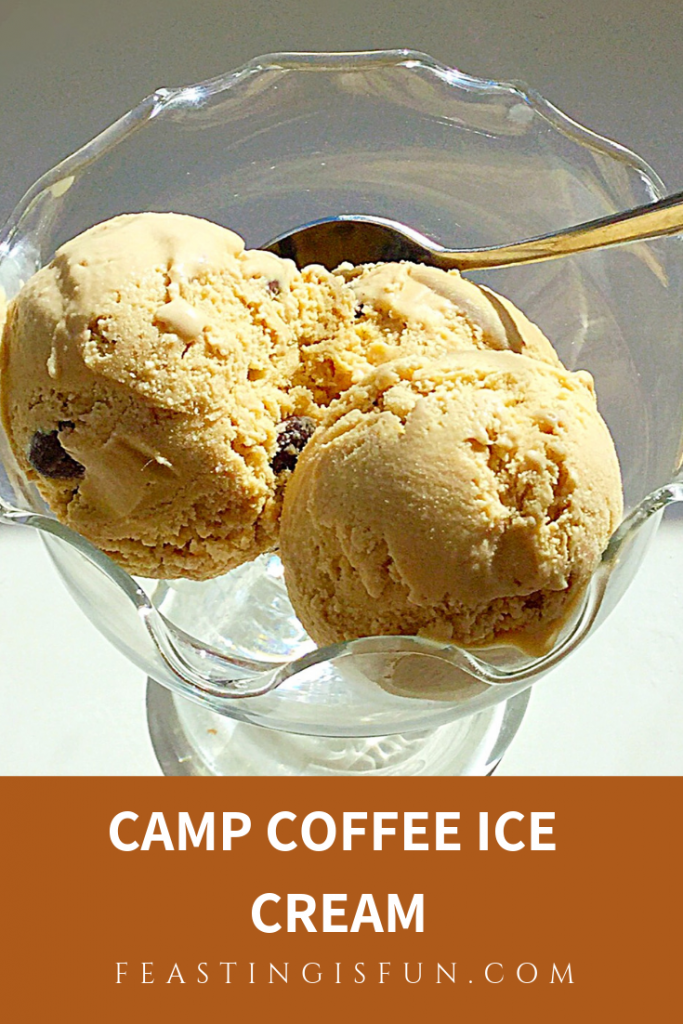 FF Camp Coffee Ice Cream