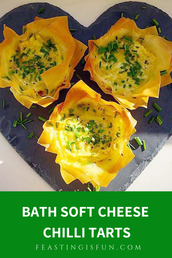 Bath Soft Cheese Chilli Tarts