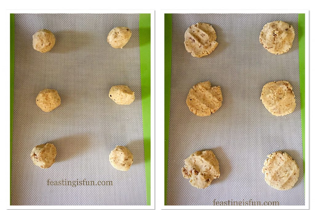 FF Camp Coffee Walnut Cookies