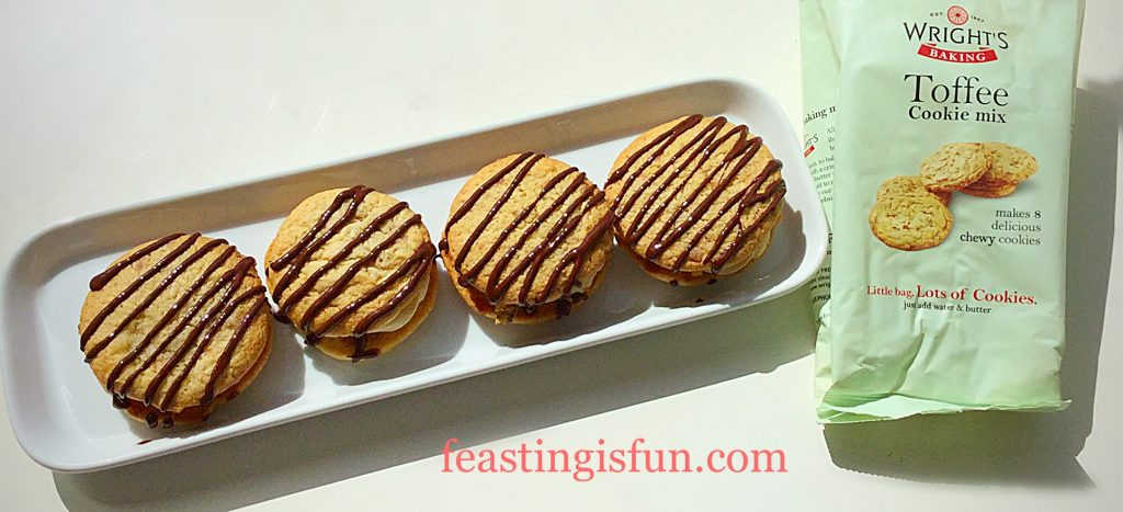 FF Salted Caramac Centre Toffee Cookies