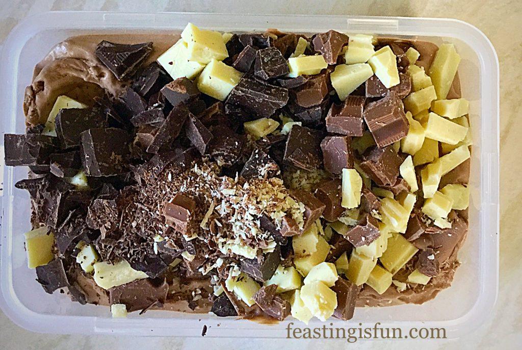 FF Triple Chocolate Chunk Ice Cream