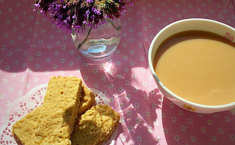 Crunchy Vanilla Shortbread