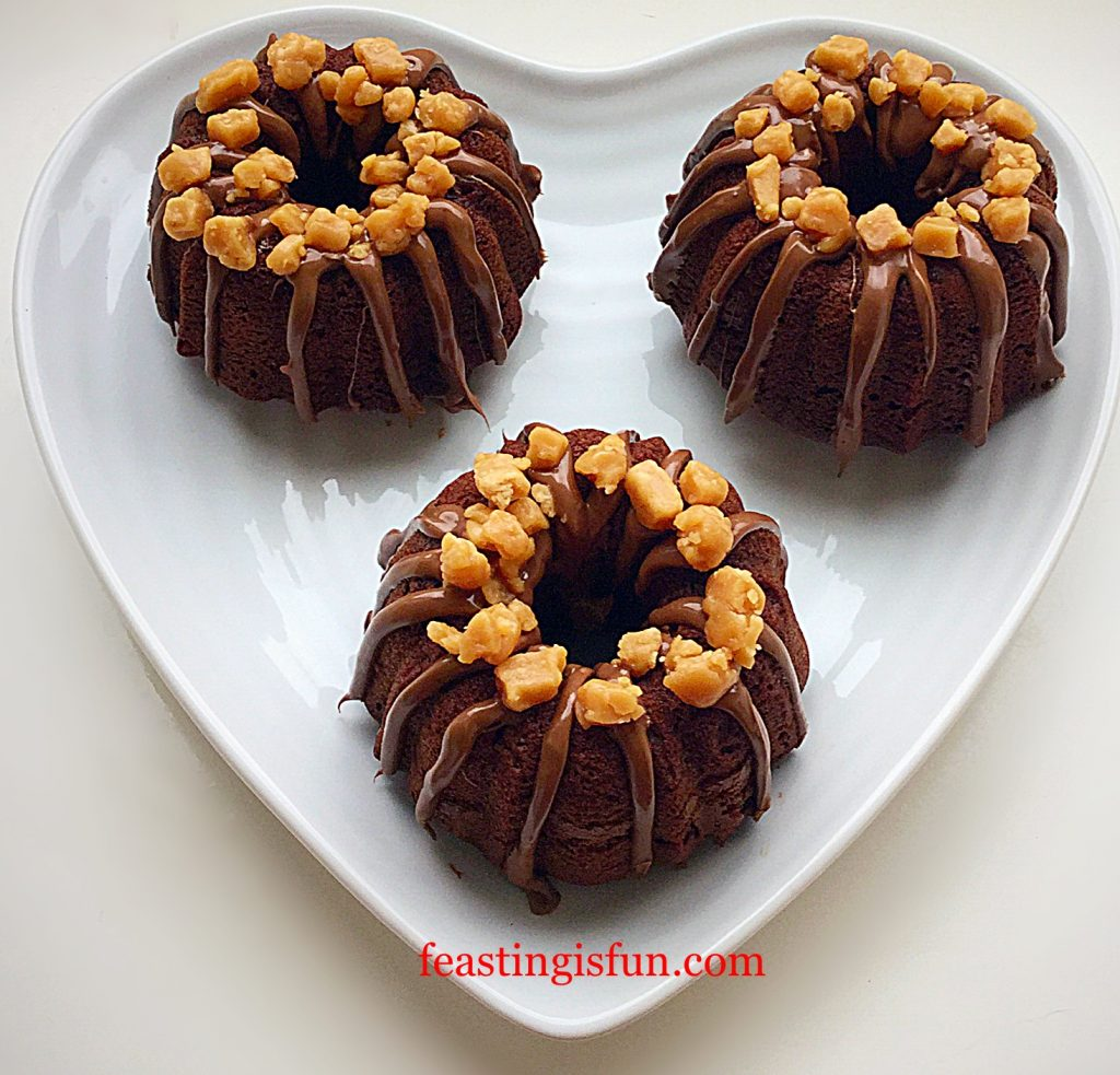 FF Mini Chocolate Fudge Bundt Cakes