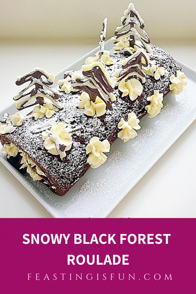 FF Gluten Free Black Forest Roulade