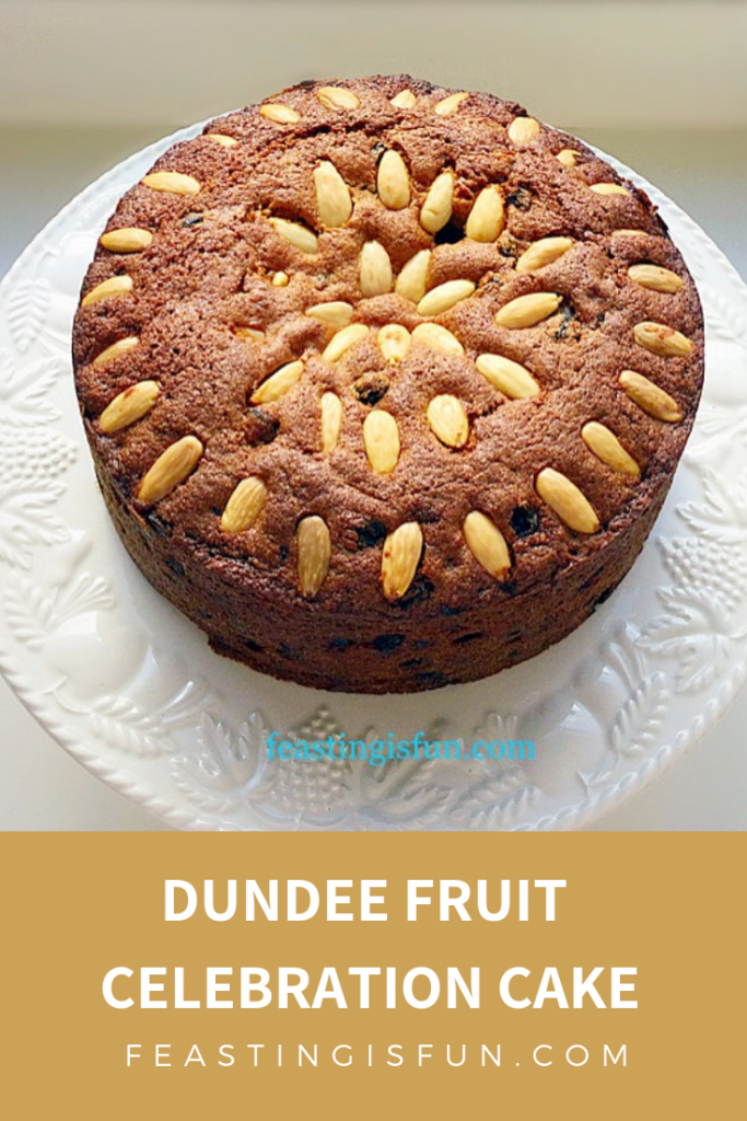 FF Dundee Fruit Celebration Cake