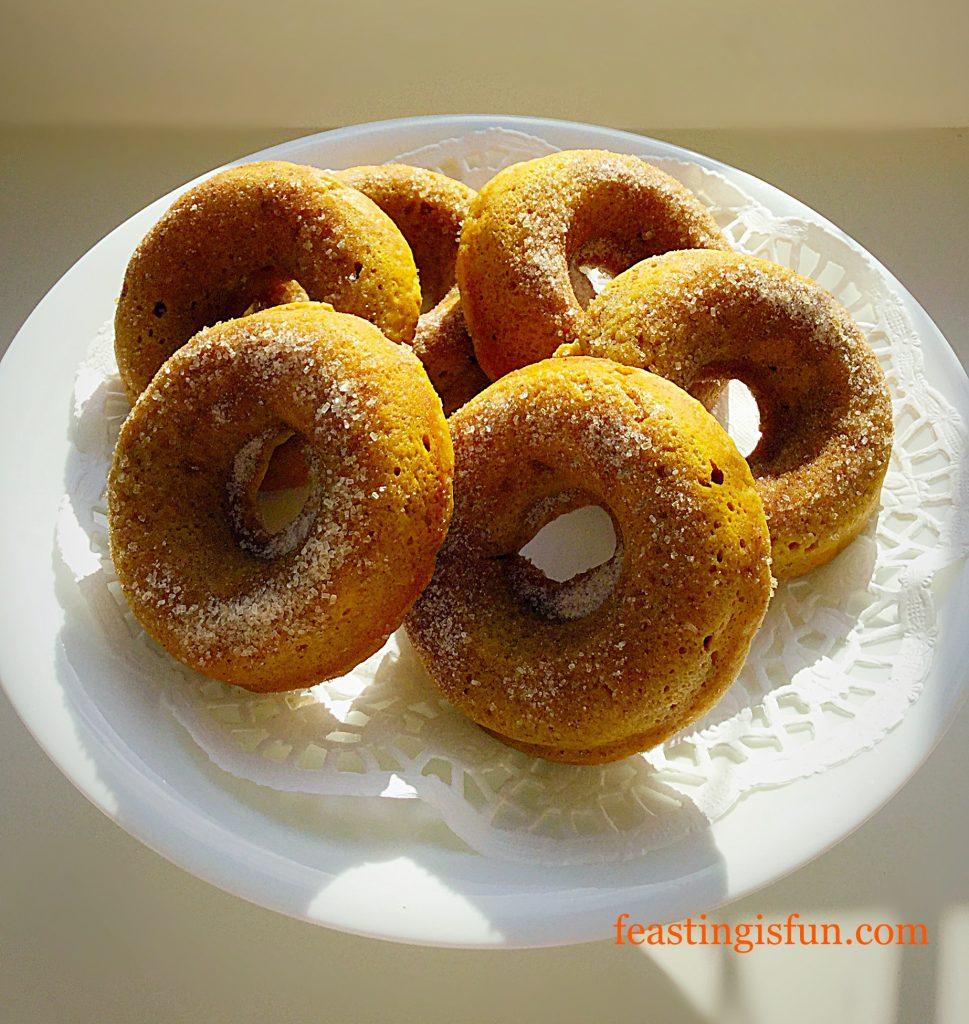 FF Baked Pumpkin Spiced Doughnuts
