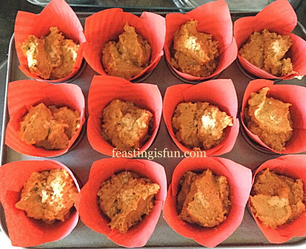 FF Spiced Pumpkin Walnut Muffins