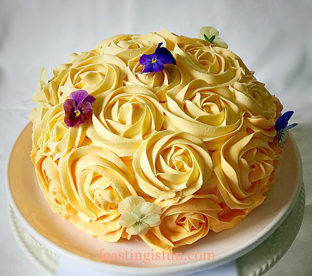 Edible Lemon Cake Decorations