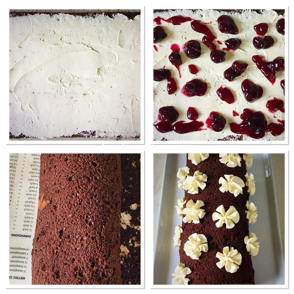 FF Snowy Black Forest Roulade
